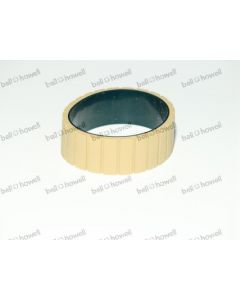 BELT- FEEDER- TAN GROOVED GUM W/LINER*